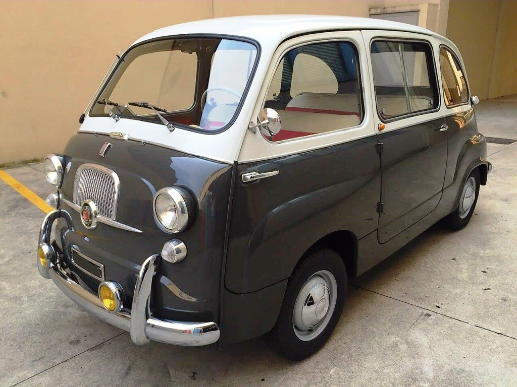 fiat 600 multipla vintagecarspassion. Black Bedroom Furniture Sets. Home Design Ideas